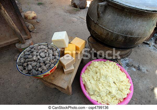 shea butter - csp4799136