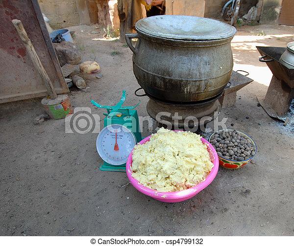 shea butter - csp4799132