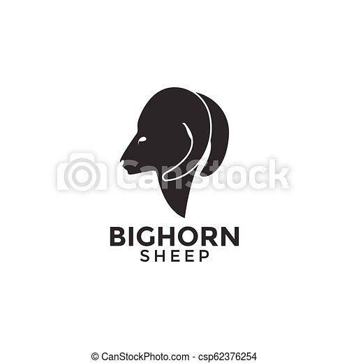 Sheep logo icon design illustration template vector - csp62376254