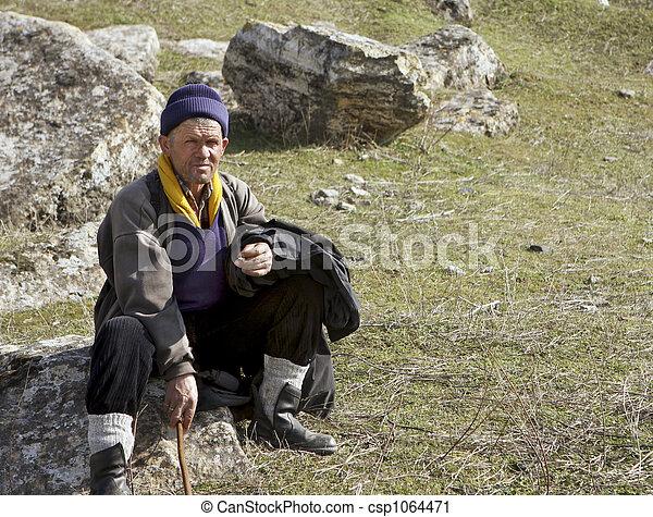 Pastor nómada - csp1064471