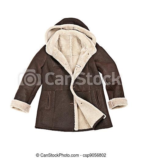 Sheepskin winter coat - csp9056802