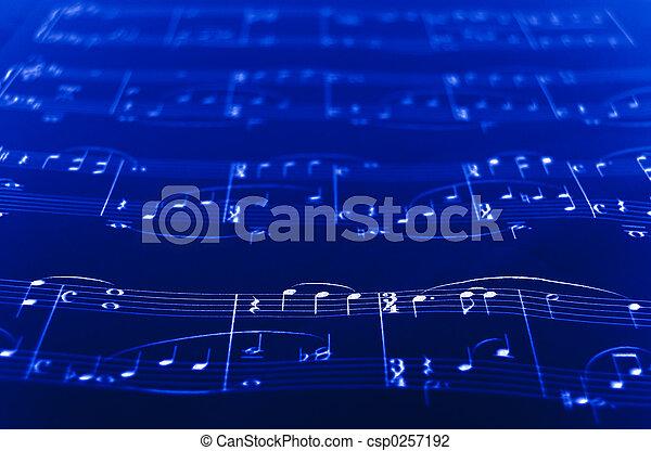 Sheet Music - csp0257192