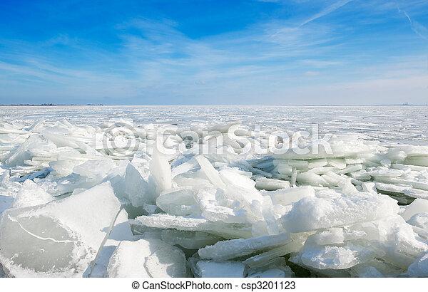 shelf ice in Marken - csp3201123