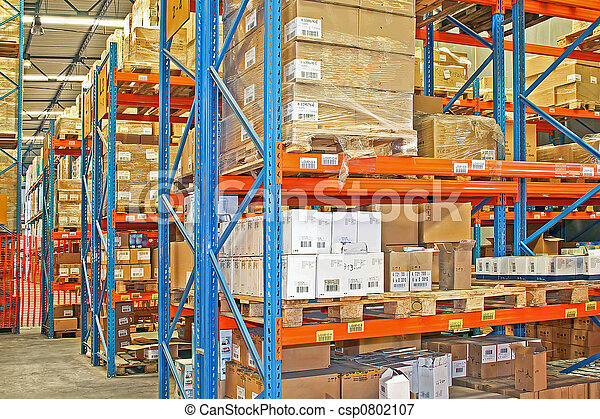 Shelves and boxes - csp0802107