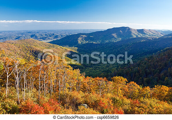 Shenandoah National park - csp6659826