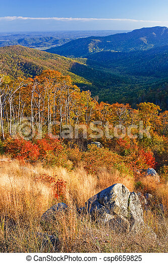 Shenandoah National park - csp6659825