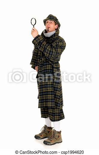 Sherlock Holmes, crime scene - csp1994620