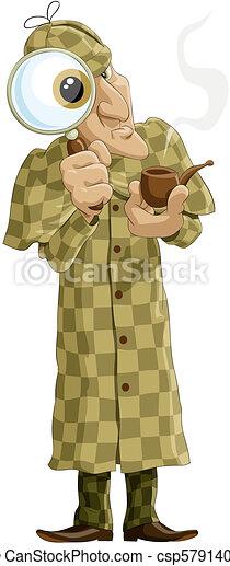Sherlock Holmes - csp5791402