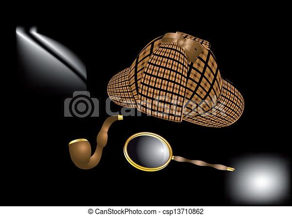 Sherlock Holmes kit - csp13710862