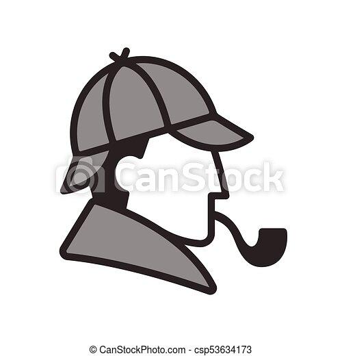 Sherlock Holmes Hat Images, Stock Photos & Vectors   Shutterstock