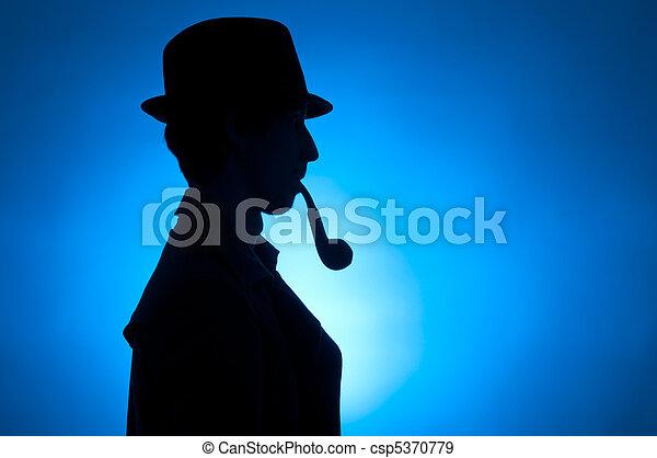 Sherlock Holmes - csp5370779