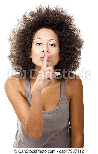 Shhh, silencio... - csp17337112