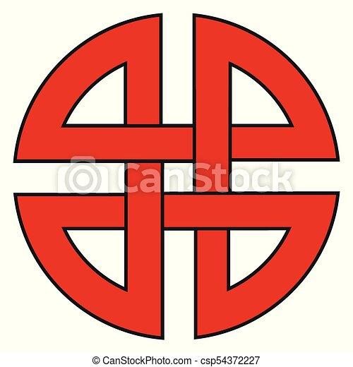 Shield knot symbol