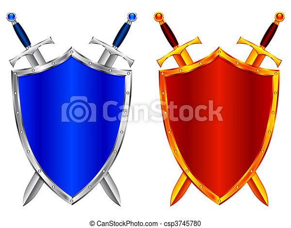 Shields. - csp3745780