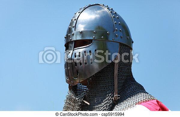 Shining knight helmet - csp5915994