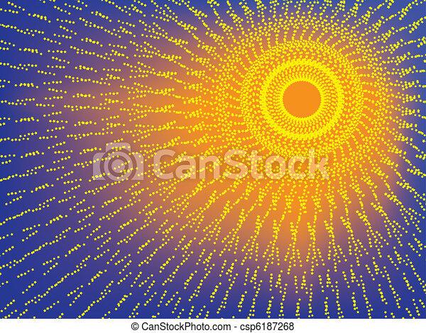 shining sun - csp6187268