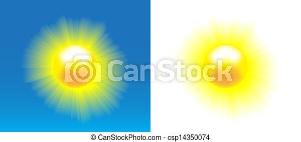 Shining sun - csp14350074