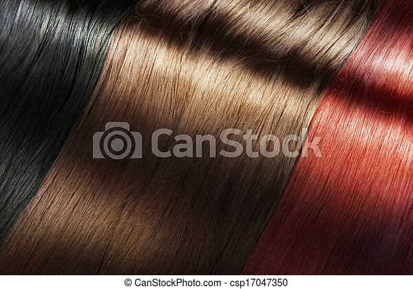 Shiny hair color - csp17047350