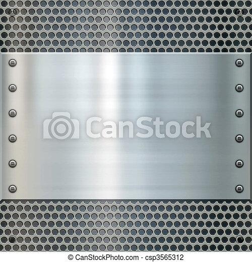 shiny metal background texture - csp3565312