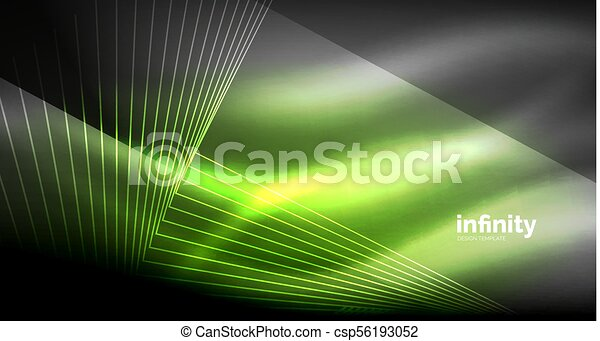 Vector Drawing Straight Lines : Shiny straight lines on dark background techno digital clipart