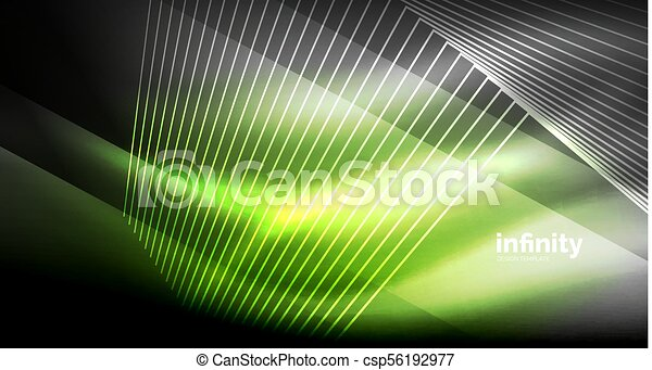 Vector Drawing Straight Lines : Shiny straight lines on dark background techno digital vectors