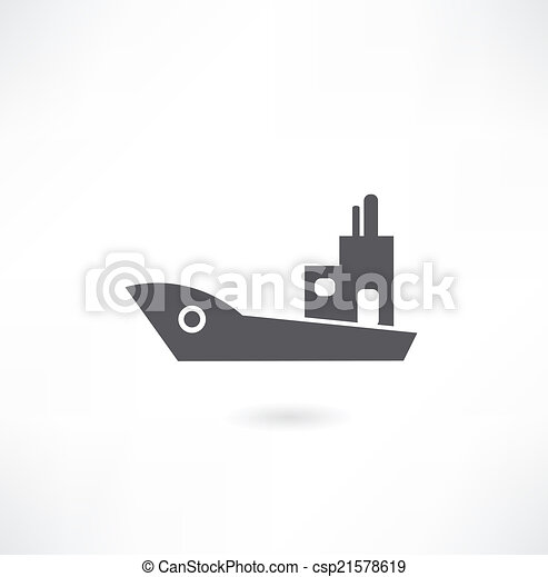Ship and boat icon set - csp21578619