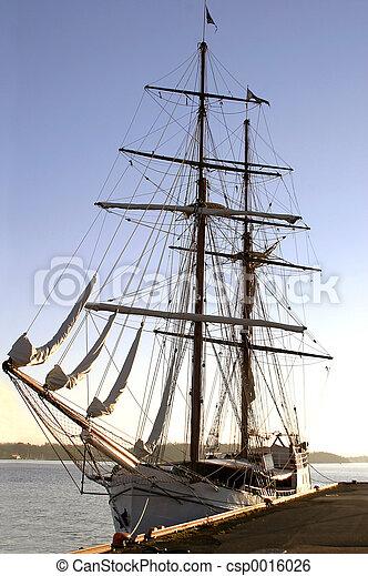 Ship at Port - csp0016026