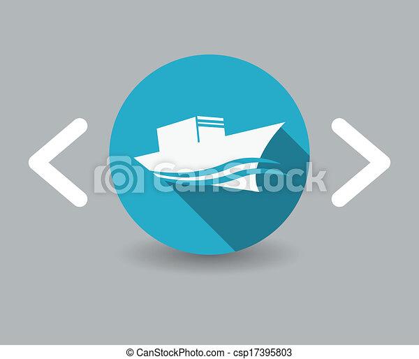 ship icon - csp17395803