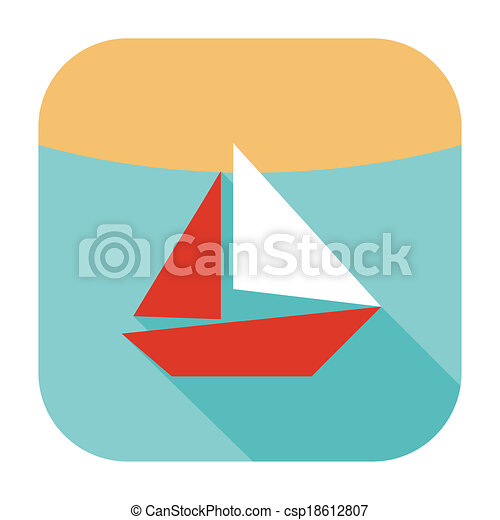 ship icon - csp18612807