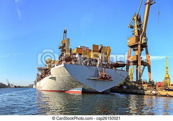 Ship in port - csp26150021