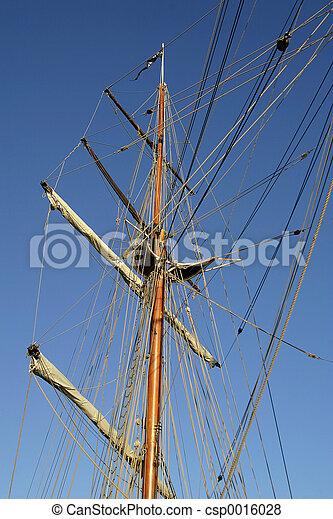 Ship Mast Detail - csp0016028