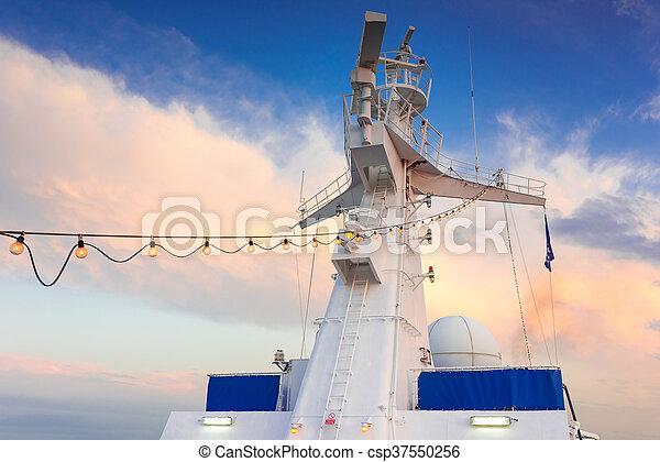 Ship radar tower - csp37550256
