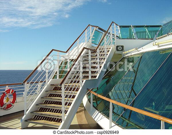 Nice Ship Stairs   Csp0926949
