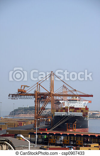 ship unloading - csp0907433