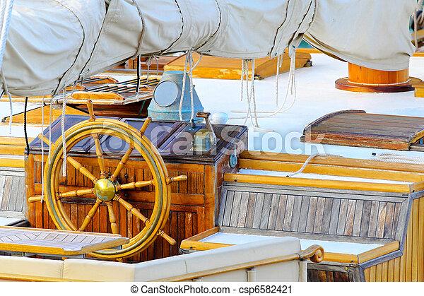 Ship wheel - csp6582421