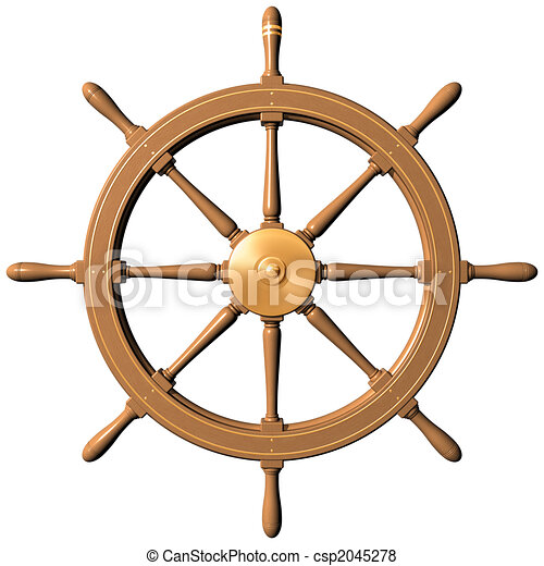 Ship wheel - csp2045278