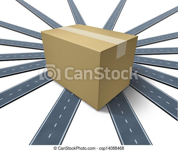 Shipping Everywhere - csp14088468