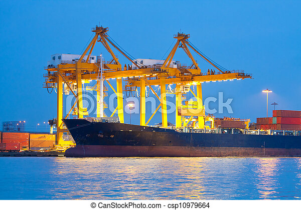shipping port - csp10979664