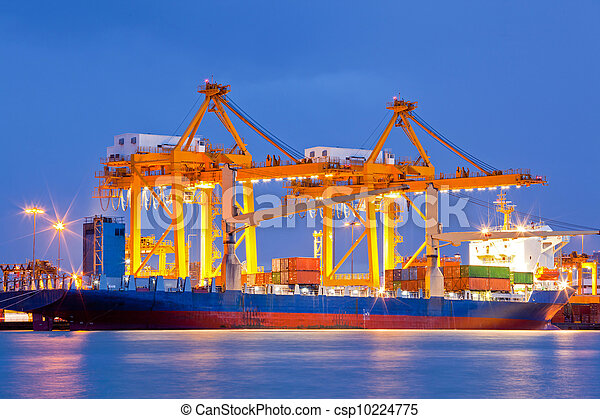 Shipyard Logistic Import Export - csp10224775