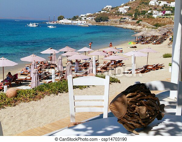 The Beach Made Famous In The Movie Shirley Valentine From The Restaurant  Where She Worked.