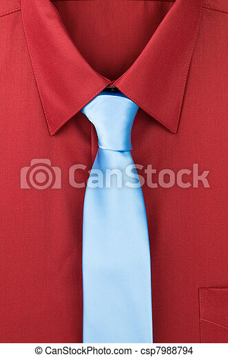 what colour tie with red shirt