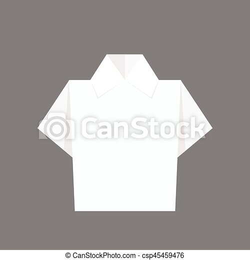 An Origami A Day: Origami Shirt | Origami shirt, Money origami ... | 470x450
