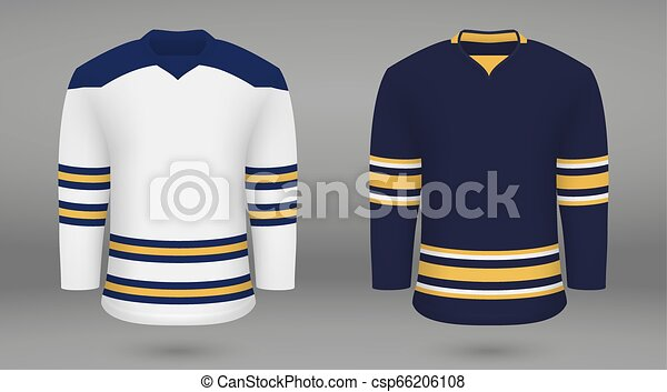Shirt Template Forice Hockey Jersey Realistic Hockey Kit Shirt