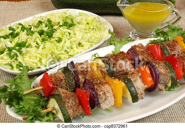 Shish kebab - csp8372961