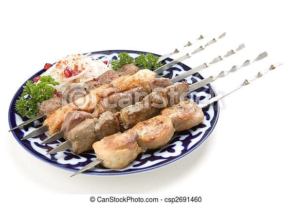shish kebab - csp2691460