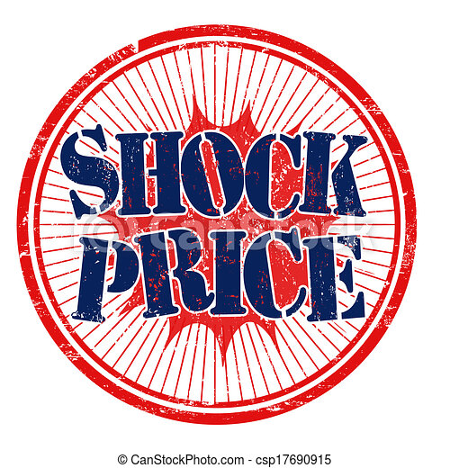 Shock price stamp - csp17690915