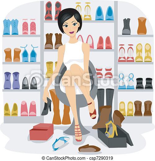 Shoe Lover - csp7290319