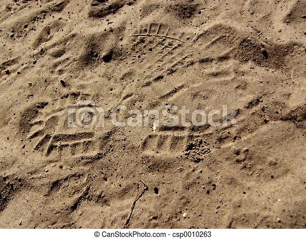 shoe print - csp0010263