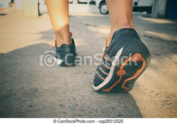 shoes., 動くこと - csp28312525
