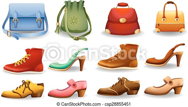 Shoes And Bags Different Design Of Shoes And Bags
